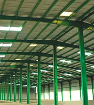 PRE ENGINEERED BUILDING & STRUCTURAL STEEL
